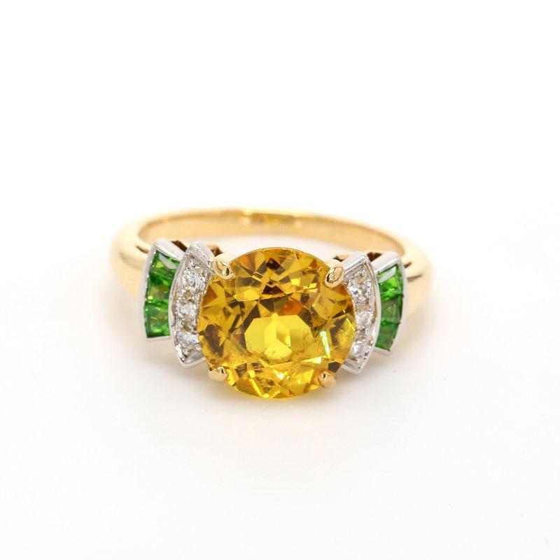 Estate Yellow Sapphire Ring