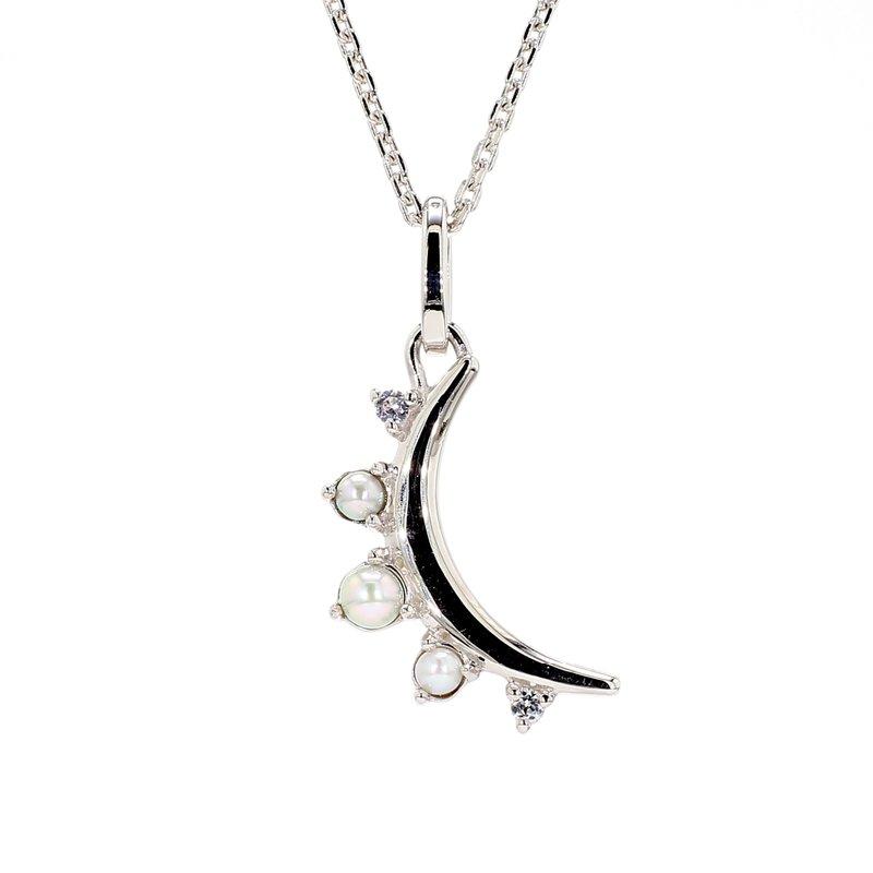 Monica Rich Kosann Pearl Moon Pendant