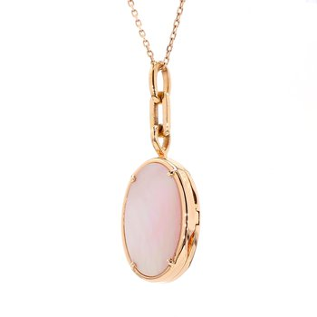 Mother of Pearl Locket