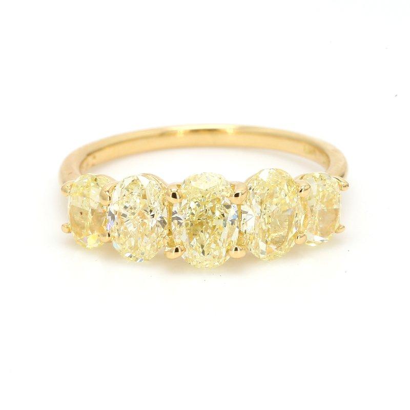 Spicer Greene Yellow Diamond Ring