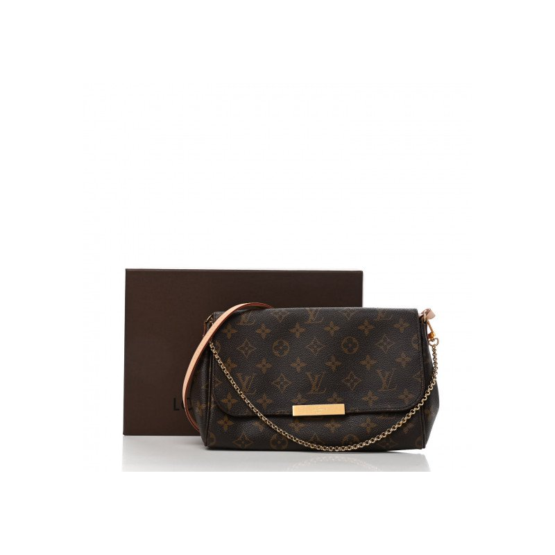 Pre-Owned Luxury Handbags Louis Vuitton Monogram Favorite MM