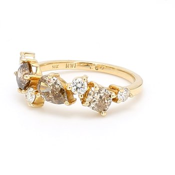 Diamond Confetti Ring