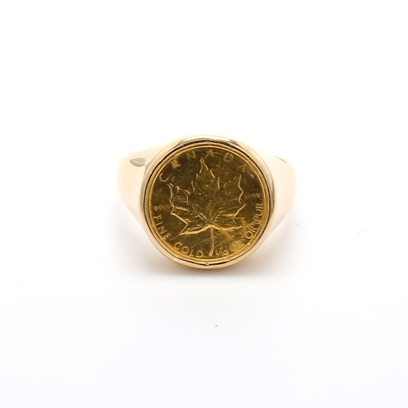 Estate Coin Ring