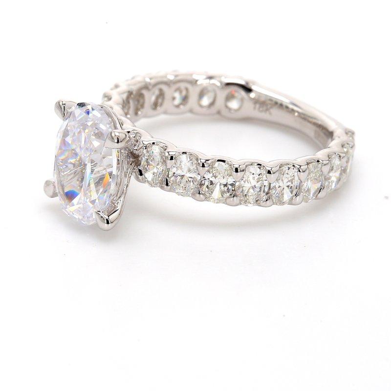 A.Jaffe Semi Mount Engagement Ring