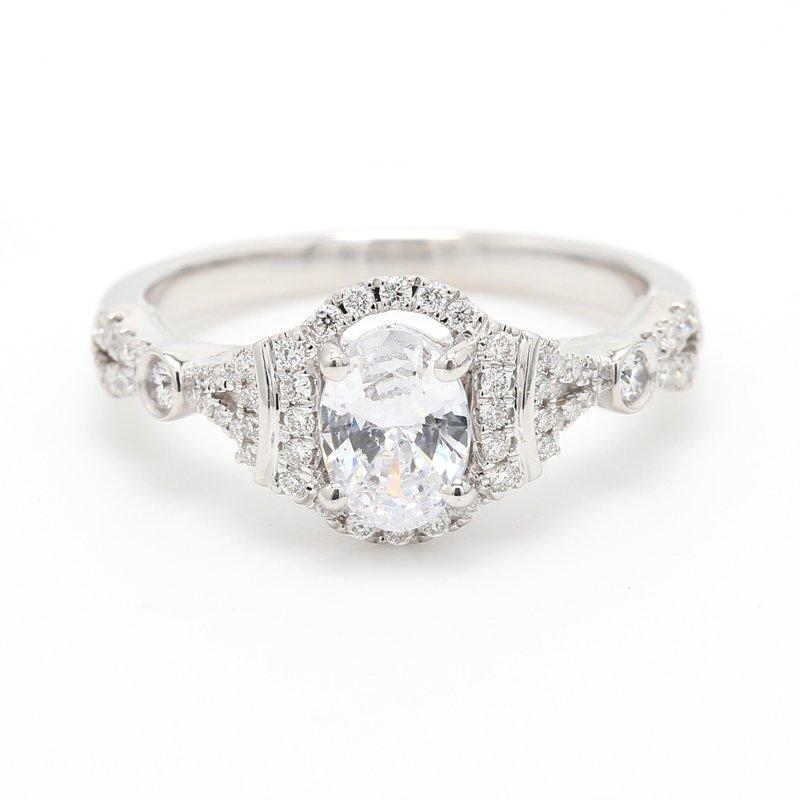 Kirk Kara Semi Mount Engagement Ring