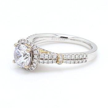 Halo Semi Mount Engagement Ring