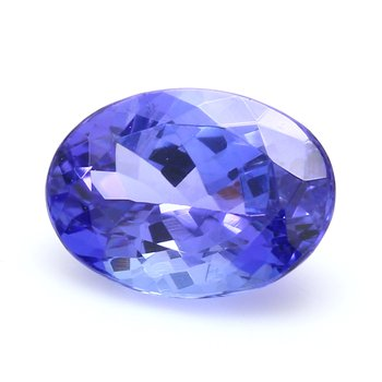 One Oval Tanzanite Zoisite Loo