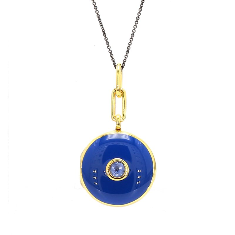 Monica Rich Kosann Sapphire Locket