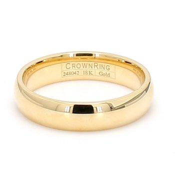 5mm 18 Karat Gold Wedding Band
