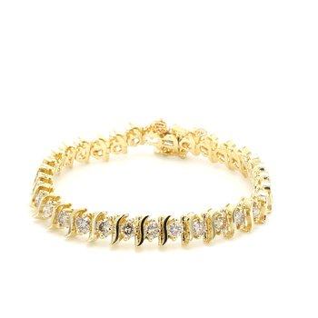 Diamond Serpentine Bracelet