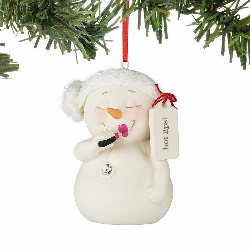 Snowpinions Hot Lips! Ornament