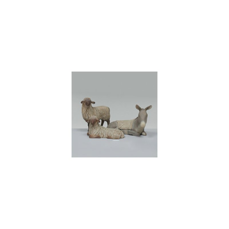 Willow Tree Stable Animals 3 piece