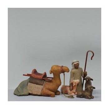 Shepherd & Animals 5 Piece