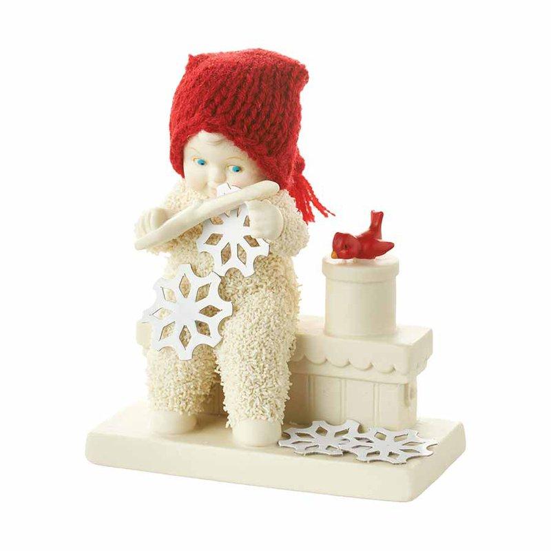 Snowbabies Making Snow