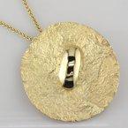 Faini Yellow Gold Pendant