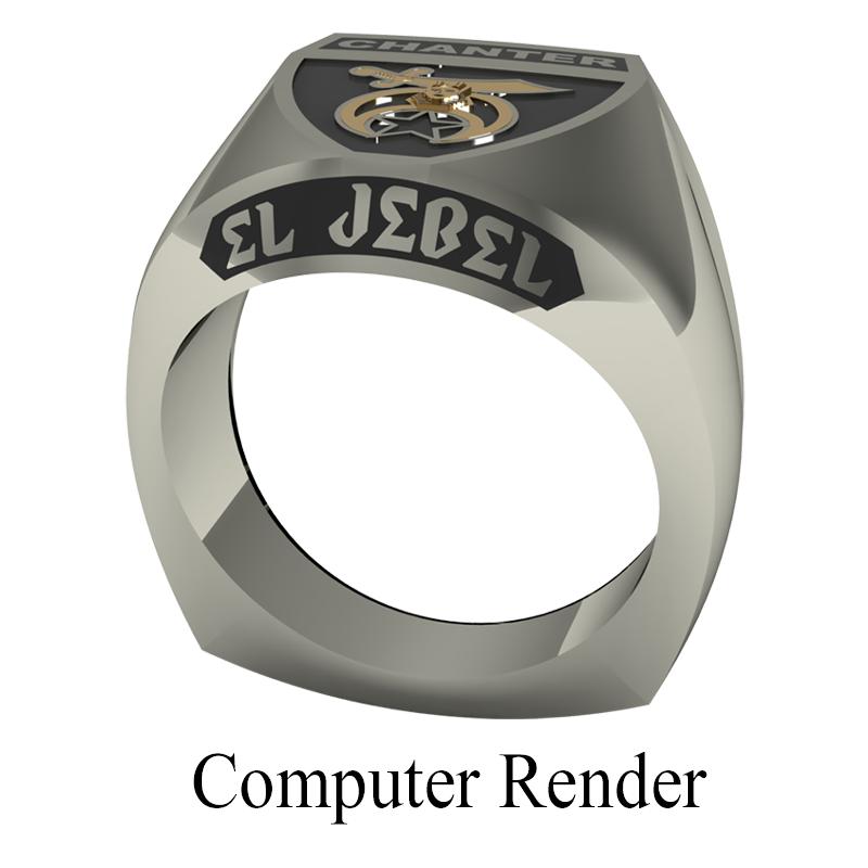 Shriner Jewelry Shrine Ring Style 1800