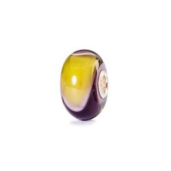 Green & Purple Armadillo Bead