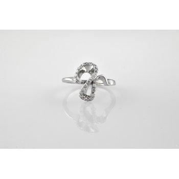Custom Ladies Diamond Encrusted Ring