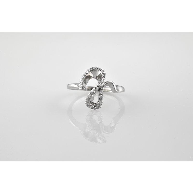 Faini Custom Ladies Diamond Encrusted Ring