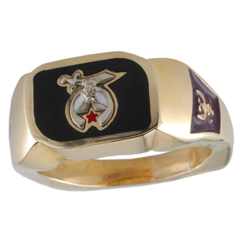 Shriner Jewelry Shrine Ring Style 1400