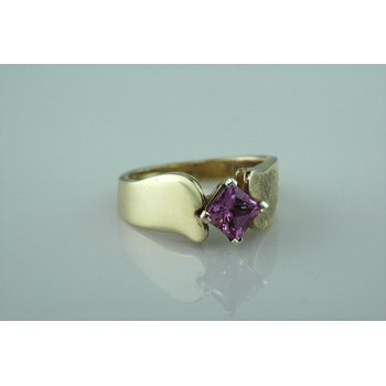 Custom Pink Sapphire Fashion Ring