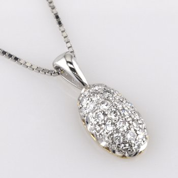 Pave Diamond Pendant