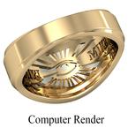 Shriner Jewelry Shrine Ring Style 1200