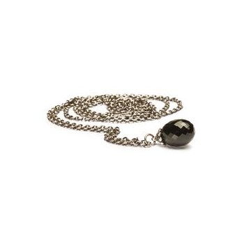 Silver Fantasy Necklace with Black Onyx