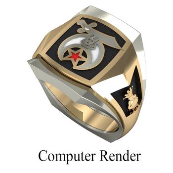 Shrine Ring Style 1700