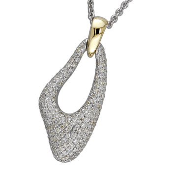 Custom Pave Diamond Fashion Pendant
