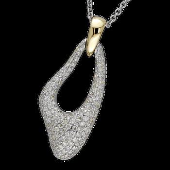Custom Pave Diamond Fashion Pendant