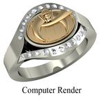 Shriner Jewelry Shrine Ring Style 5200