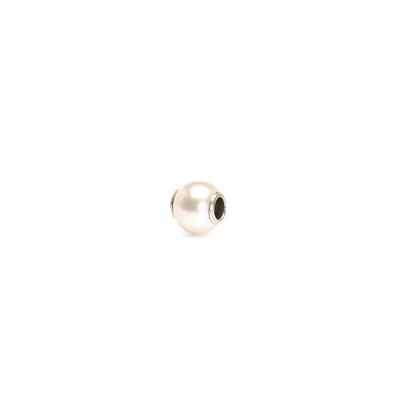 Trollbeads White Pearl
