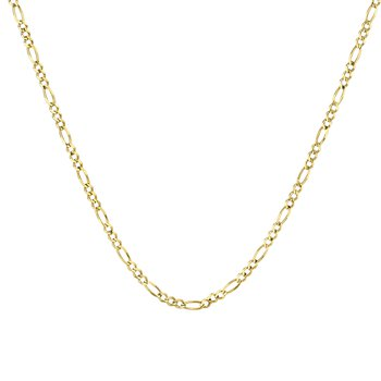 10k yellow gold 24 inch. men's chain