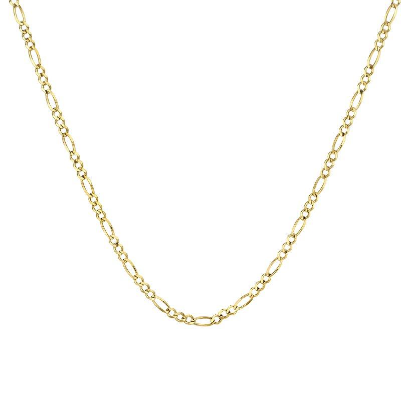 Greenberg's 10k yellow gold 24 inch. men's chain