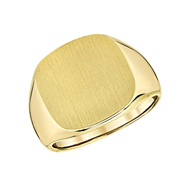 Greenberg's 14k yellow gold men's ring