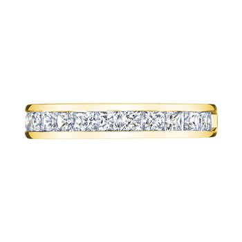 14k yellow gold 1/2 ctw anniversary band