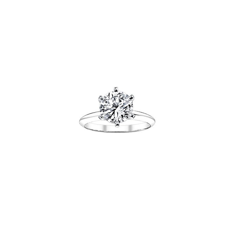 Greenberg's Solitaire Collection  1.5 round solitaire engagement ring