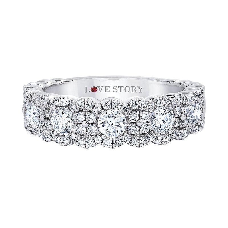 Love Story Diamond Band