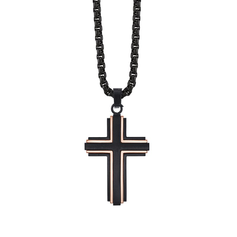 Greenberg's Men's Cross Necklace