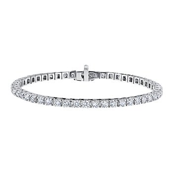 14K WG 2ctw Diamond Tennis Bracelet