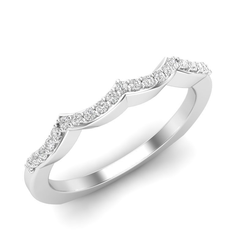 Love Story Wedding Band