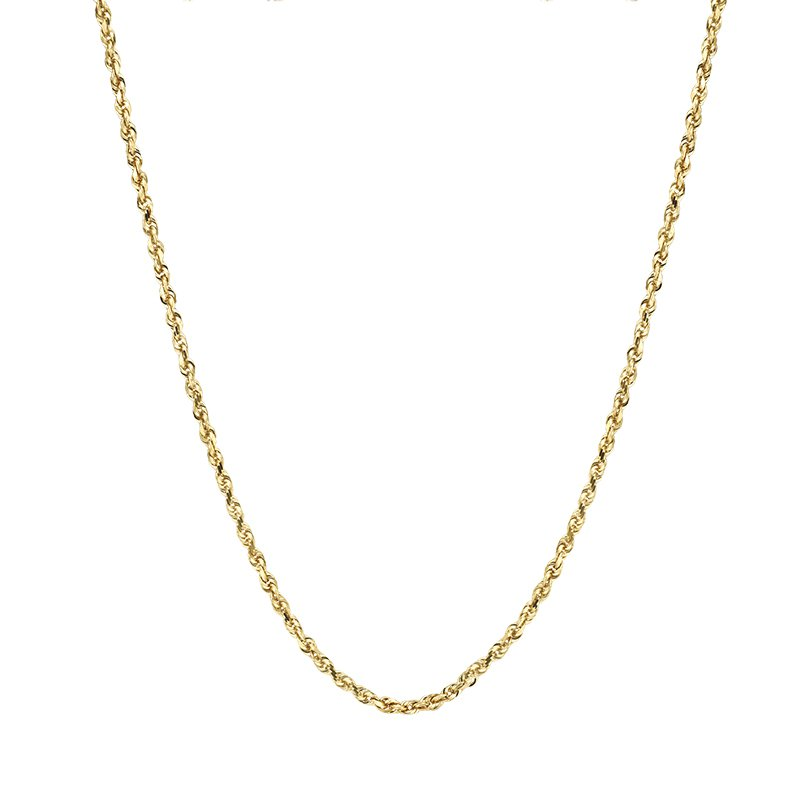 Greenberg's 10k yellow gold men's gold chain