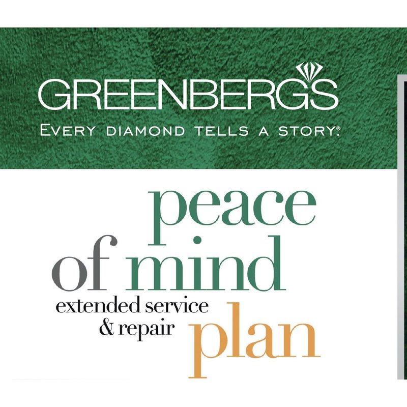 Greenberg's Peace of Mind Plan (7,501-$9,999)