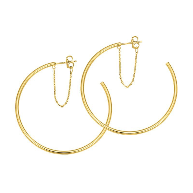 Greenberg's Hoop Earrings