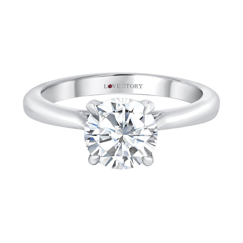 Love Story Engagement Ring