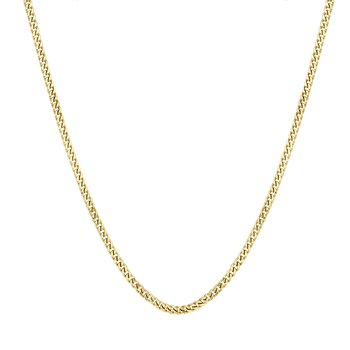 10k yellow gold 26 inch. men's chain