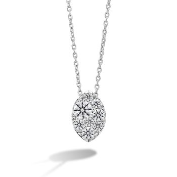 Tessa Diamond Navette Pendant