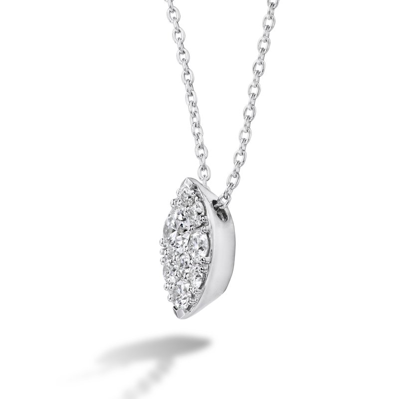 Hearts on Fire Tessa Diamond Navette Pendant