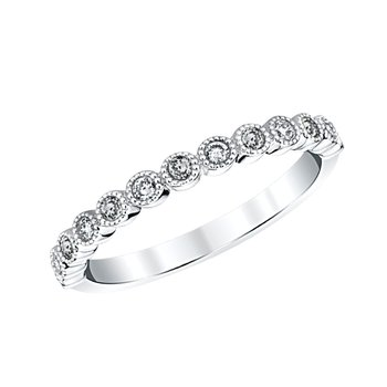 "14k white gold ""april"" topaz and diamond birthstone ring"